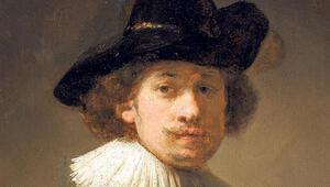 Rembrandt'ın 26 yaşındayken çizdiği otoportresi satışa çıkıyor
