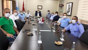 Kılavuz kaptanlarla DTO'da normalleşme konuşuldu