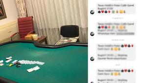 Beşiktaşta kumar baskını Şifreli mesajlarla iletişim kuruyorlardı