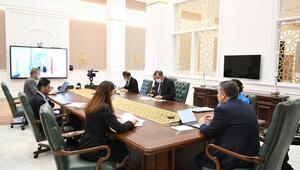Bakan Koca, DSÖ Avrupa Bölge Direktörü ile görüştü