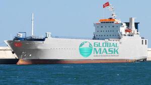 Yüzen fabrikalar ABD yolunda maske üretecek