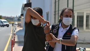 Yolcu otobüsüyle uyuşturucu taşıyan 2 zanlı tutuklandı