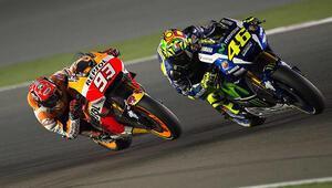 MotoGPde yeni takvim belli oldu