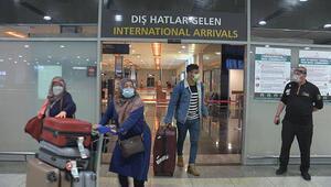 Sabiha Gökçene yurt dışından ilk uçak iniş yaptı