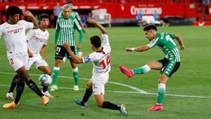 Sevilla-Real Betis maçından en özel kareler