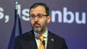 Gençlik ve Spor Bakanı Muharrem Kasapoğlu: Dopingle mücadelede temiz spor felsefesiyle çalışmaya devam edeceğiz