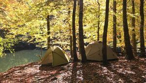 Sosyal mesafeli tatil: Bu yazı çadırda geçiriyoruz