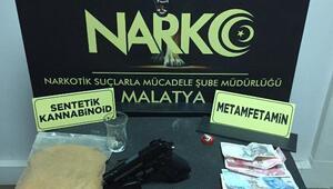 Malatyada uyuşturucuya 2 gözaltı