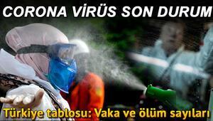 Corona Virüs 12 Haziran tablosu: Türkiye koronavirüs vaka ve ölüm sayıları: Covid 19 risk haritası ve güncel veriler