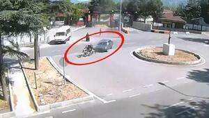 Ispartada 3 kaza, kameralara yansıdı