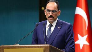 Cumhurbaşkanlığı Sözcüsü Kalından Libya açıklaması Çözüm askeri değil siyasi olmalı