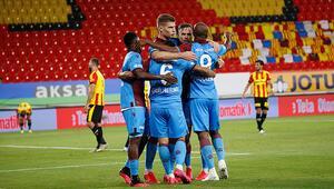 Göztepe 1-3 Trabzonspor (Maçın özeti)