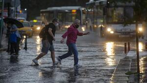 Metrekareye yer yer 30 kg yağış düştü