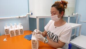 Yenimahalle dezenfektan üretimine başladı