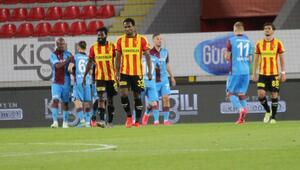 Göztepe, Trabzonspora yenilerek Avrupa şansını zora soktu