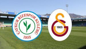 Çaykur Rizespor Galatasaray maçı ne zaman