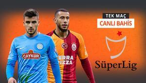 Düşme potasındaki Rizespor, şampiyonluk yolundaki Galatasarayı konuk ediyor %68le iddaada...