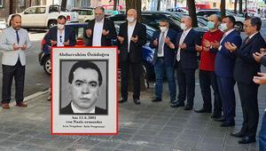 NSU kurbanı terzi Abdurrahim Özüdoğru anıldı