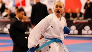 Milli karateci Rabia Elik gözünü olimpiyatlara dikti