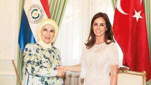 First Lady aradı, Paraguay'a yardım edildi