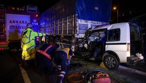 Kazada iki kişi hayatını kaybetti
