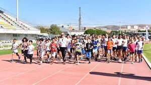 Çocukların yüreğine sporla dokunuyoruz