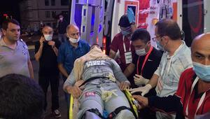 Son dakika Galatasarayda Fernando Muslera ambulansla hastaneye kaldırıldı 6-8 ay sahalardan uzak kalacak