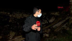 Bingölde DHA ekibi artçı sarsıntıya yakalandı