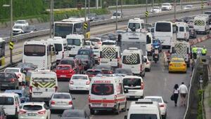 Haftanın ilk iş gününde İstanbul trafiğinde yoğunluk