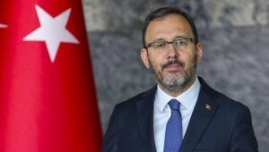 Gençlik ve Spor Bakanı Kasapoğlundan Muslera için geçmiş olsun telefonu