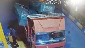 Çalıntı kamyonetle mobilya hırsızlığı