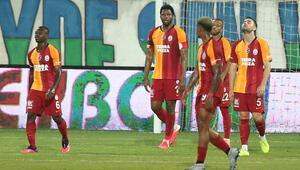 Galatasaray Rizede bir maçtan fazlasını kaybetti