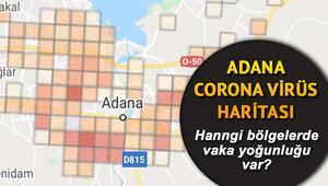 Adana koronavirüs vaka haritası.. Covid 19 Adana vaka yoğunluğu hangi bölgelerde İlçe ilçe Corona Virüs tablosu