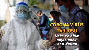17 Haziran Corona Virüs vaka sayısı tablosu: Türkiye ve dünyada koronavirüs (korona virüs)  son durum güncel haritası