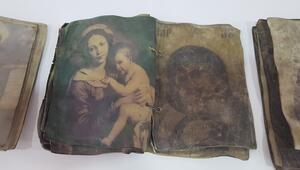 Kırıkkalede, Hıristiyanlığın ilk dönemlerine ait dua kitapları ele geçirildi