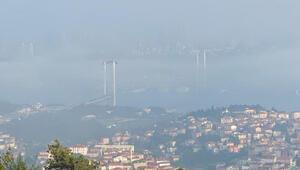 İstanbulda etkili olan sis kazaya neden oldu