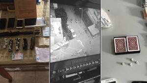 Hileli zarla kumarda kaybettirip, yüksek faizle borçlandıran 2 çeteye dronlu operasyon