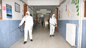 Karatayda LGS ve YKS öncesi okullar dezenfekte ediliyor