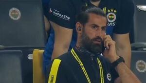Son dakika Fenerbahçe - Trabzonspor maçında Volkan Demirelden Deniz Türüçe tepki