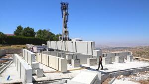 Elazığda Balakgazi parkı ve cam seyir terası şekilleniyor