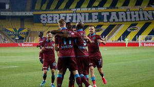 Fenerbahçe 1-3 Trabzonspor | Maçın özeti ve golleri