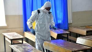 67 okulda dezenfeksiyon