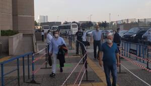 İstanbul Adalet Sarayında uzun kuyruklara karşı önlemler artırıldı