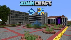 Boğaziçi Üniversitesi kampüsü Minecraft'ta yeniden inşa edildi