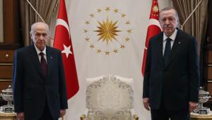 Son dakika haberler: Ankara'da kritik görüşme Cumhurbaşkanı Erdoğan, Bahçeliyi ağırladı