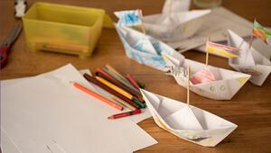Şişe kapaklarından gemi nasıl yapılır