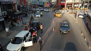 İstanbulda 9 ilçede Dar alan uygulaması yaptı, 25 şüpheli yakalandı