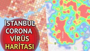 İstanbul koronavirüs tablosu ilçe ilçe risk haritası.. İstanbulda hangi ilçelerde corona virüs yoğunluğu var