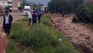 Bingölü, depremden sonra sağanak vurdu