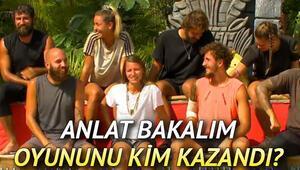 Survivor ünlülerle anlat bakalım oyununu kim kazandı Survivor 110. bölüm özeti ve yeni bölüm fragmanı